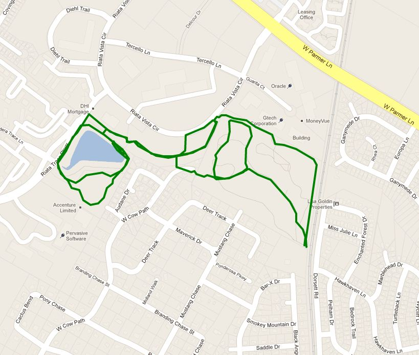 Trails Near Milwood | Milwood Neighborhood Assoc